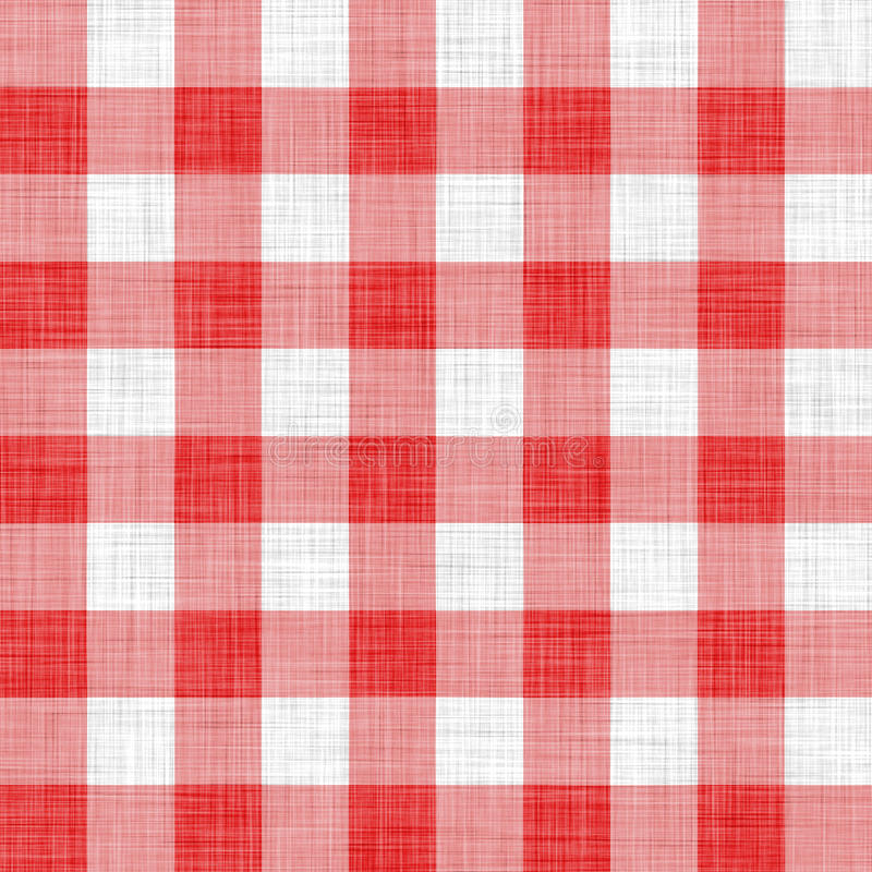Free Red Picnic Cloth Royalty Free Stock Photos - 12954308