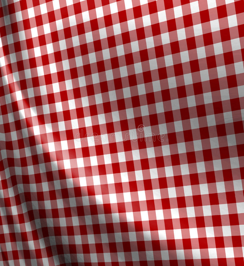 Download Red picnic cloth texture stock illustration. Illustration of fabric - 5026772