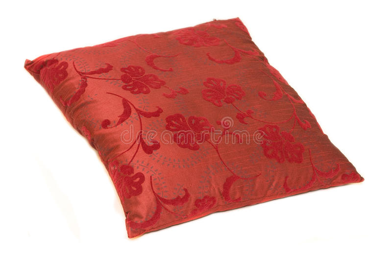 Download Red pillow stock image. Image of color, comfortable, cushion - 11049759