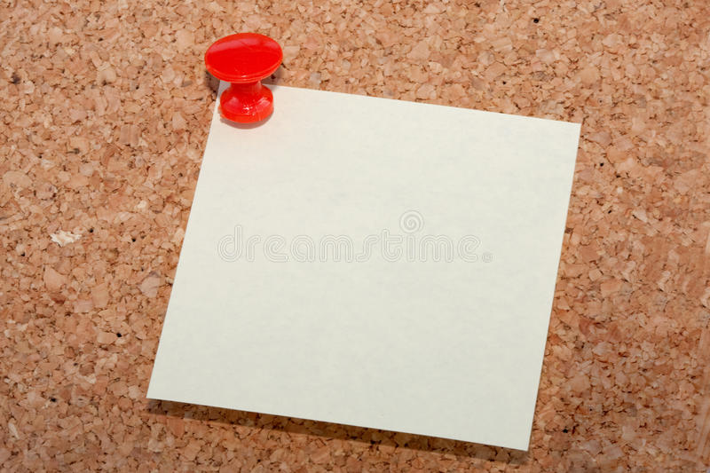 Download Red pin with note stock photo. Image of board, note, office - 11045240