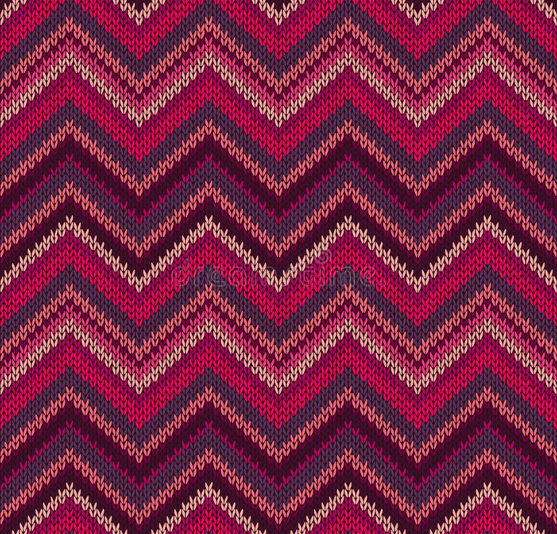 Download Red Pink Knit Texture Pattern Stock Vector - Image: 24434220