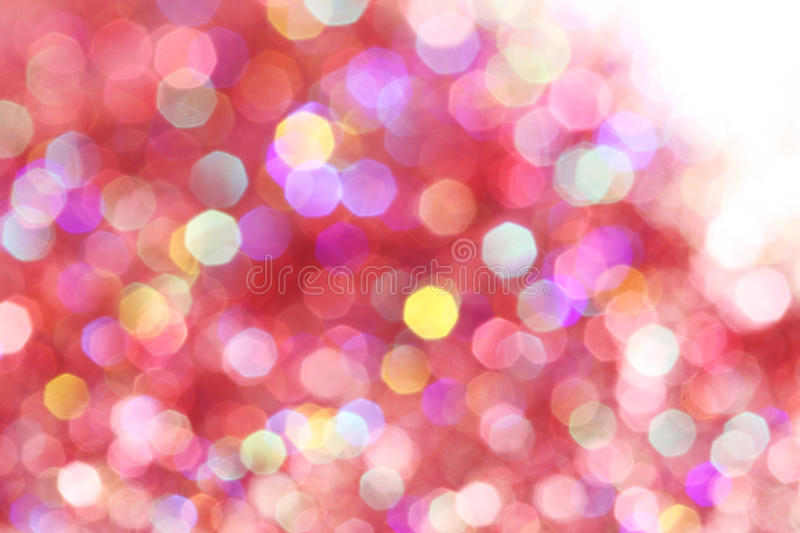 Red, pink, white, yellow and turquoise soft lights abstract background - dark colors. Red, pink, white, yellow, purple and turquoise soft lights abstract stock photo