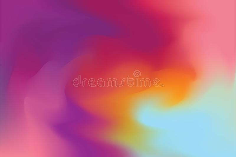 Red Pink Yellow Blue Soft Color Mixed Background Painting Art Pastel Abstract Colorful Art Wallpaper Stock Illustration Illustration Of Creative Color 117219456