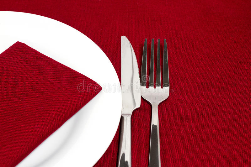 Download Red place setting stock image. Image of brunch, dine - 18976481