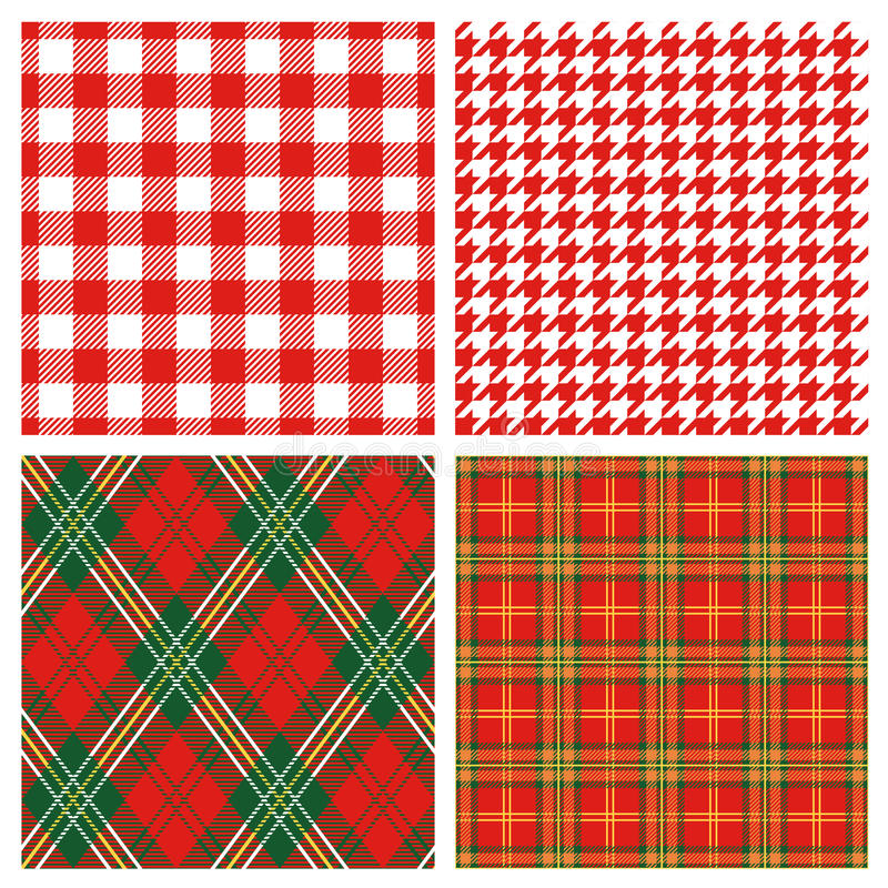 Free Red Plaid Royalty Free Stock Images - 17151129