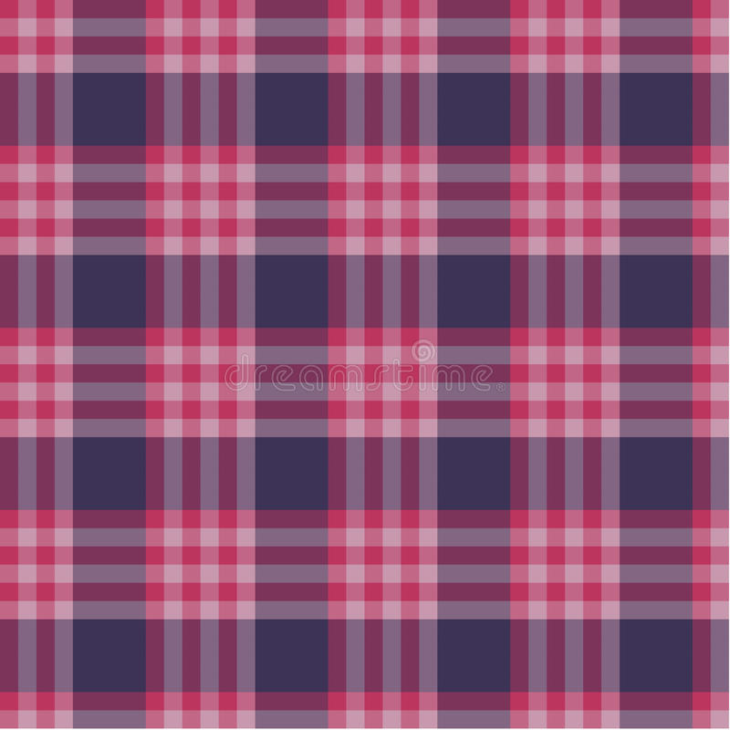 Red plaid pattern stock illustration