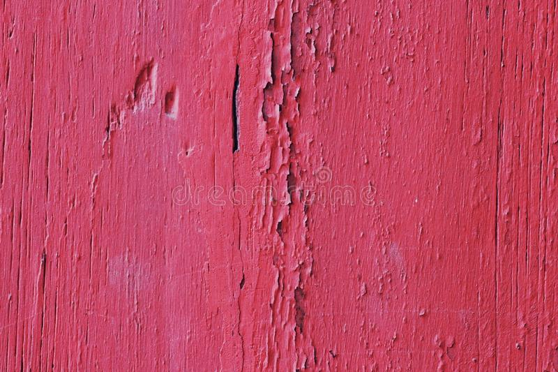 Red plain color wood skin background royalty free stock photo