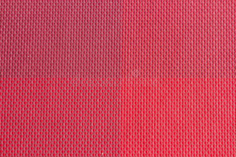 red plastic woven fabric samples, texture background stock images