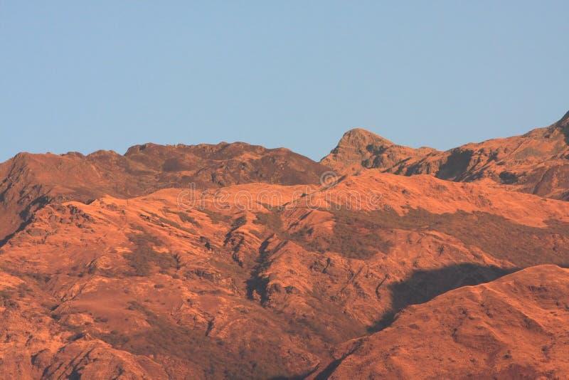 Download Red plateau moutain stock image. Image of plateau, sunrise - 10879807