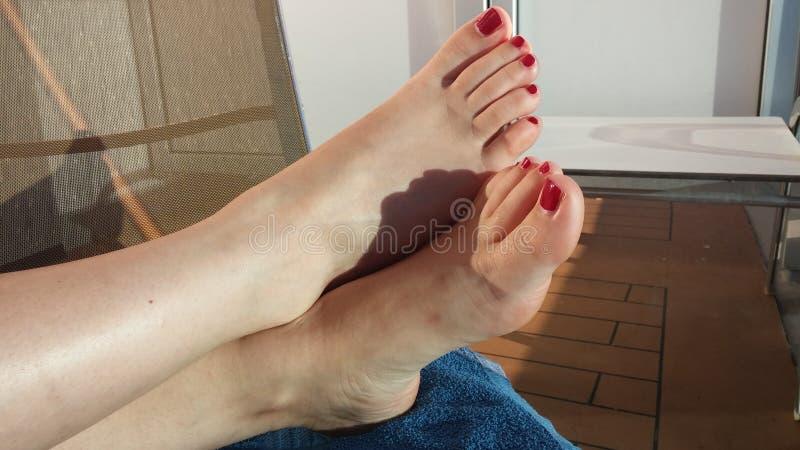 Red Polish Toes 6 Free Public Domain Cc0 Image