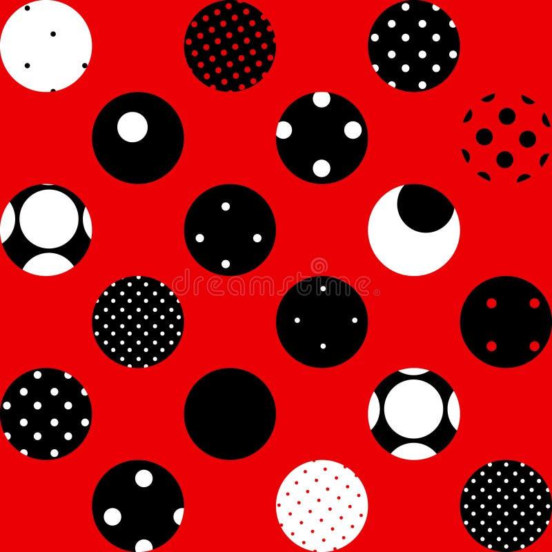 Download Red polka dot stock vector. Illustration of backdrop - 21754380