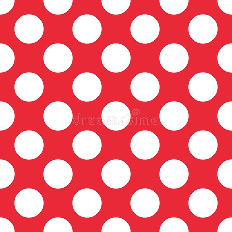 Free Red Polka Dot Seamless Pattern. For Plaid, Tablecloths, Clothes, Shirts, Dresses, Paper, Bedding, Blankets, Quilts And Royalty Free Stock Photos - 132598028