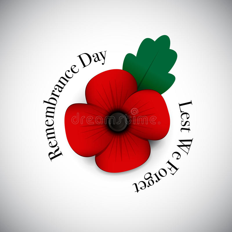 Free Red Poppy Remembrance Day Royalty Free Stock Images - 79688289