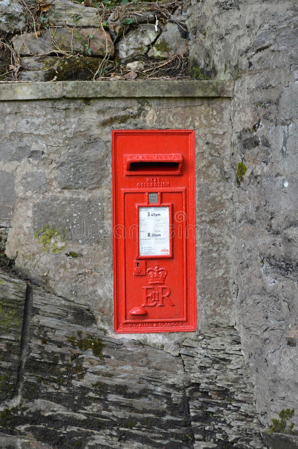 Download Red Post Box - UK editorial image. Image of postbox, countryside - 91009570