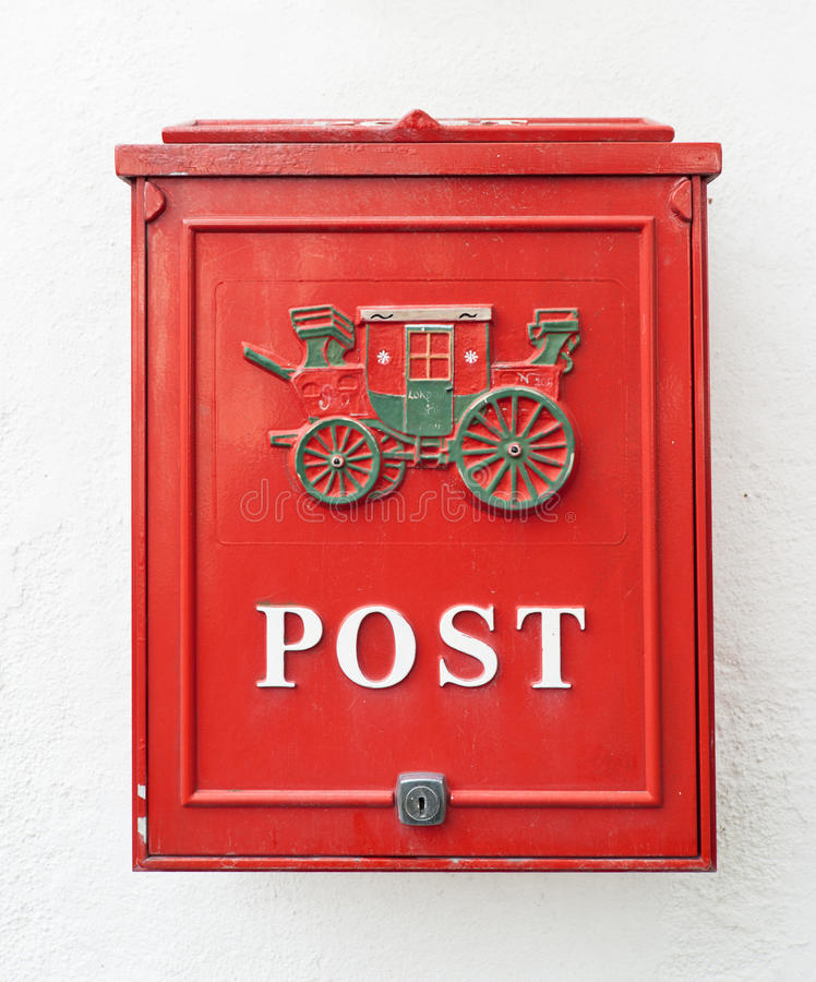 Download Red postbox stock photo. Image of history, dirty, document - 23971848