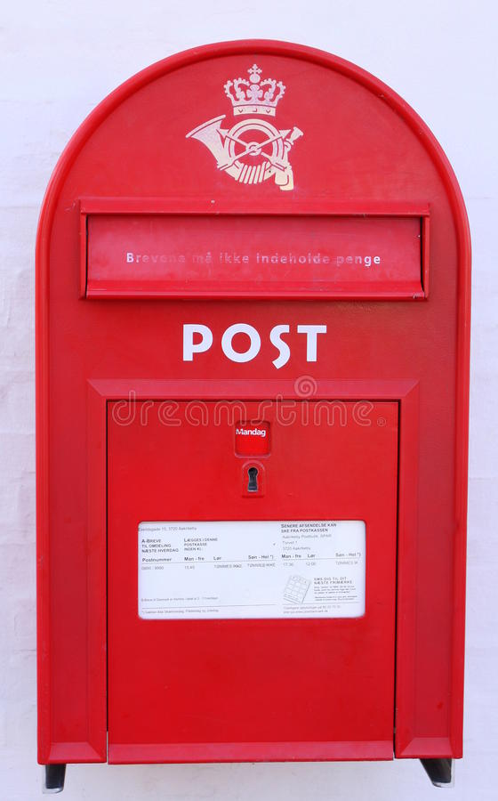 Red postbox stock images