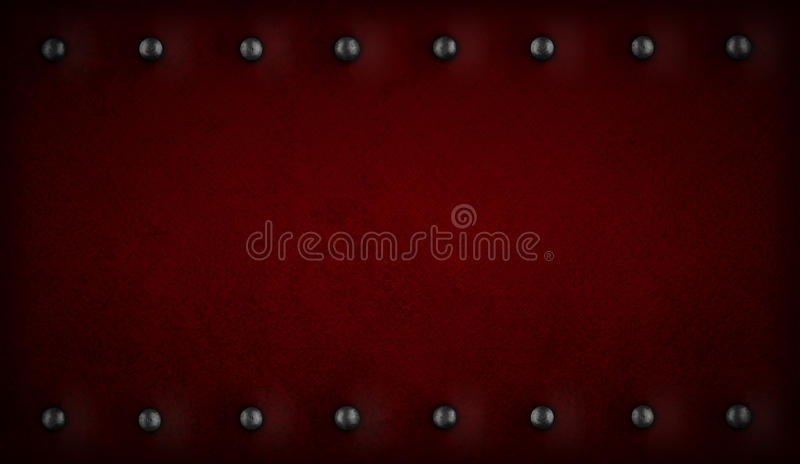 Download Red Or Purple Background With Rivets Stock Image - Image: 23524229