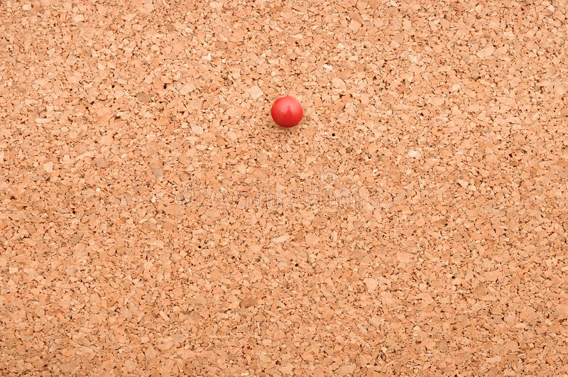 Download Red pushpin stock image. Image of attachment, cork, card - 27913633
