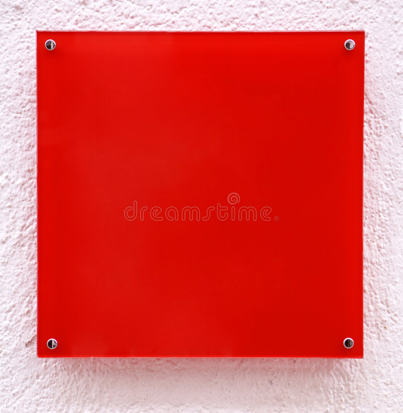 Download Red Quadrate With Pink Frame Royalty Free Stock Photo - Image: 5670725