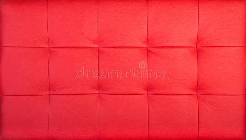 Download Red quilted leather stock photo. Image of vivid, background - 11298558