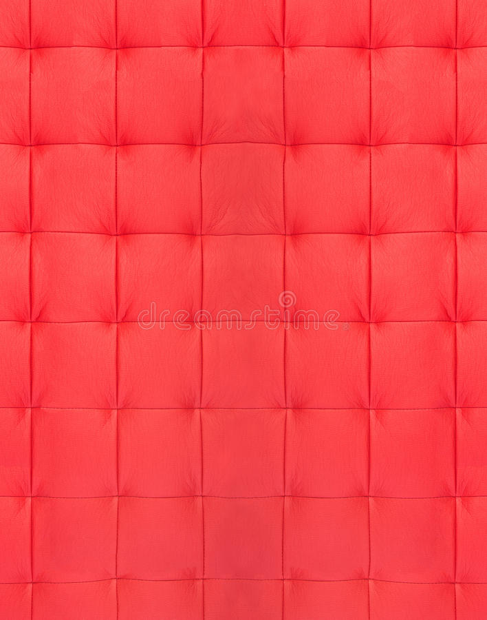 Download Red quilted leather stock image. Image of detail, quilted - 28025221