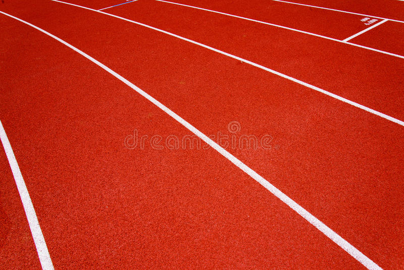 Red race for running royalty free stock photos