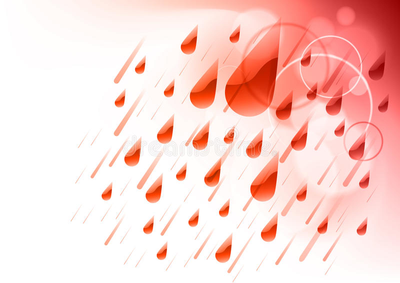 Download Red Rain Stock Images - Image: 19296014