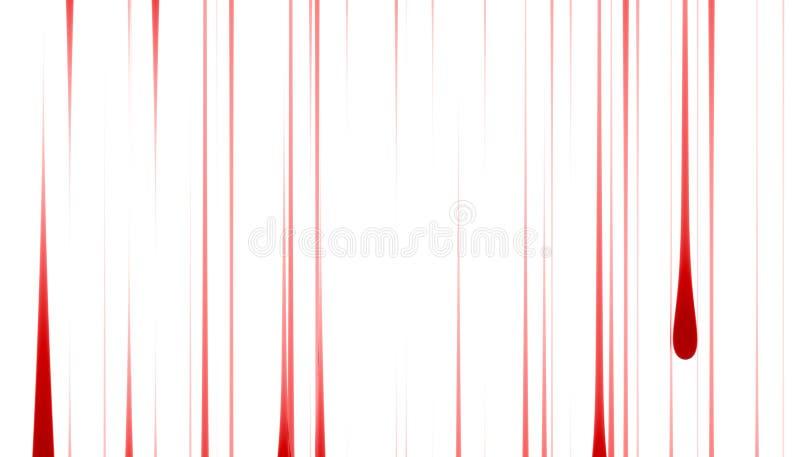 Red Rain vector illustration