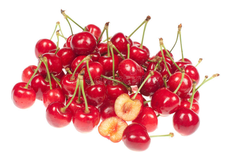 Red Raw Chery Stock Images