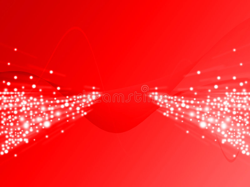 Red Ray Of Light royalty free illustration