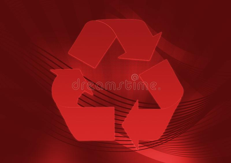 Download Red recycle stock illustration. Illustration of refresh - 5925934