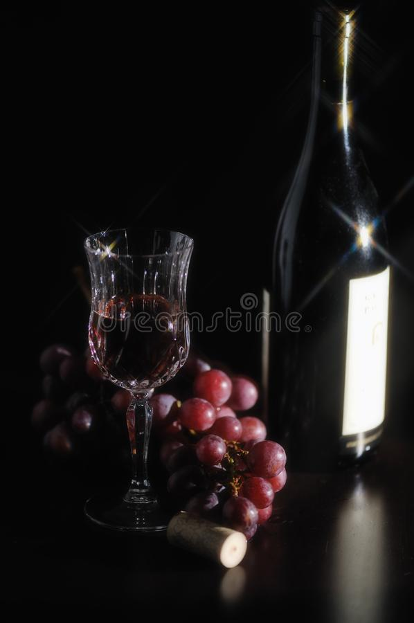 Red red wine 2 stock image