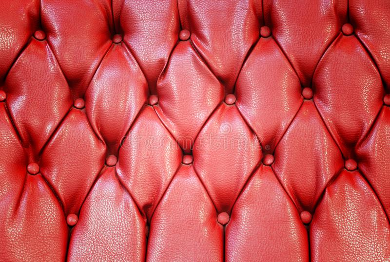 Red retro capitone texture background royalty free stock photos
