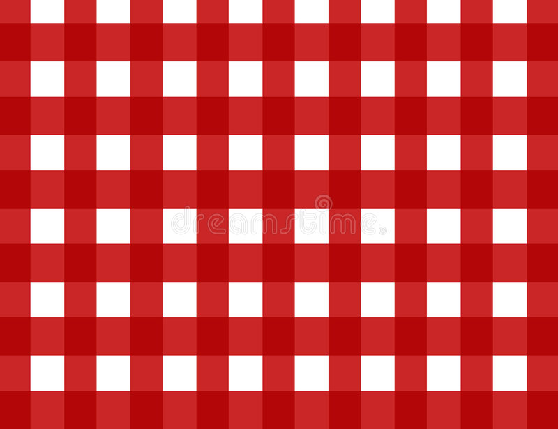 Download Red retro gingham check stock vector. Image of cloth, bright - 2583819