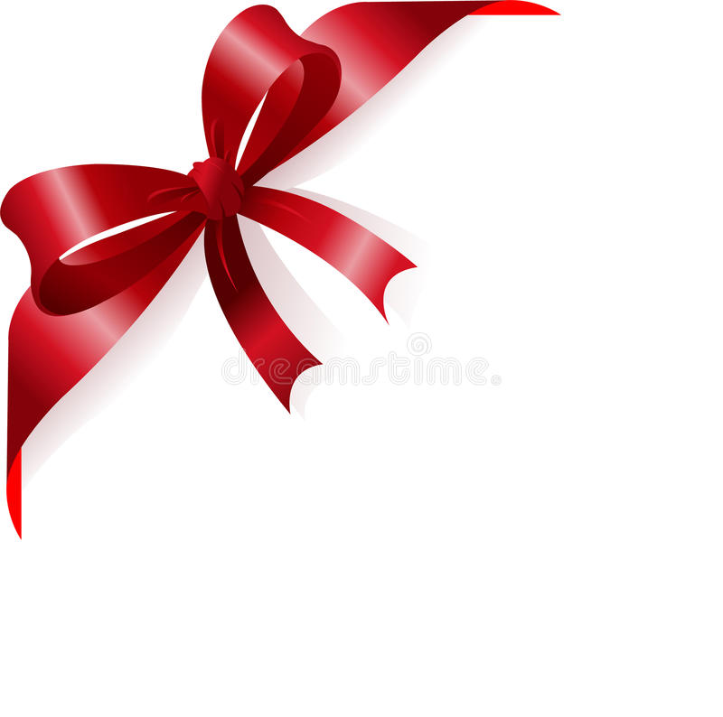 Download Red ribbon stock vector. Image of christmas, copy, illustration - 11640036