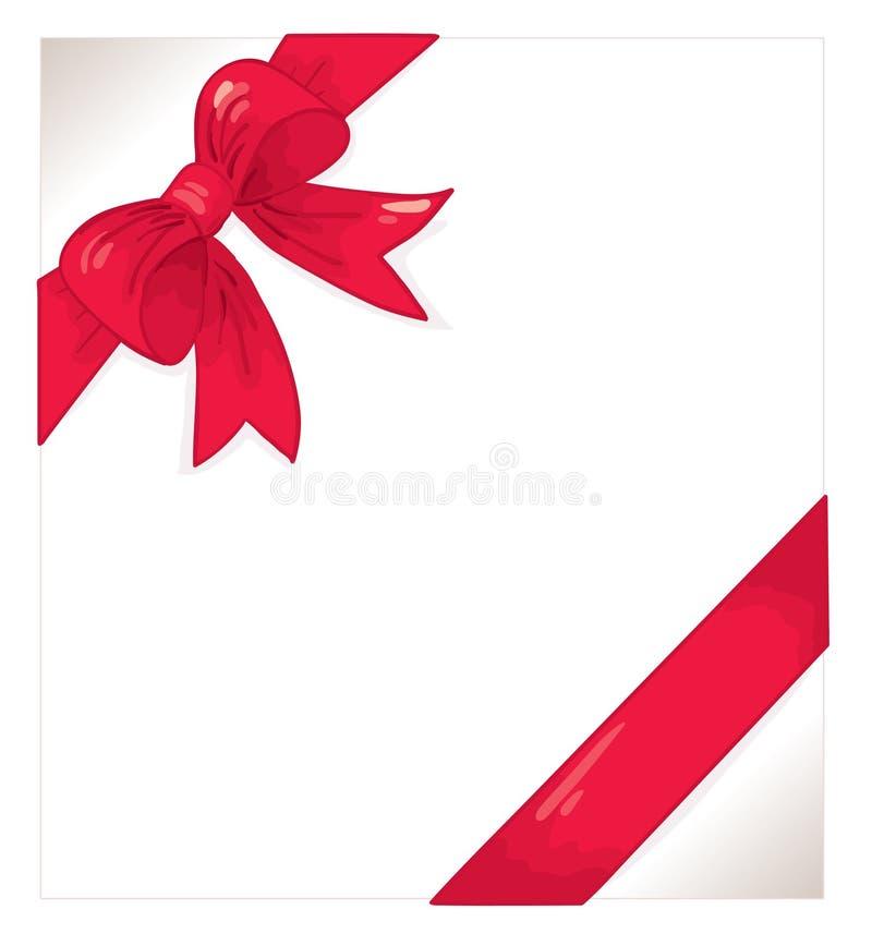 Download Red ribbon stock vector. Illustration of festive, love - 14182533