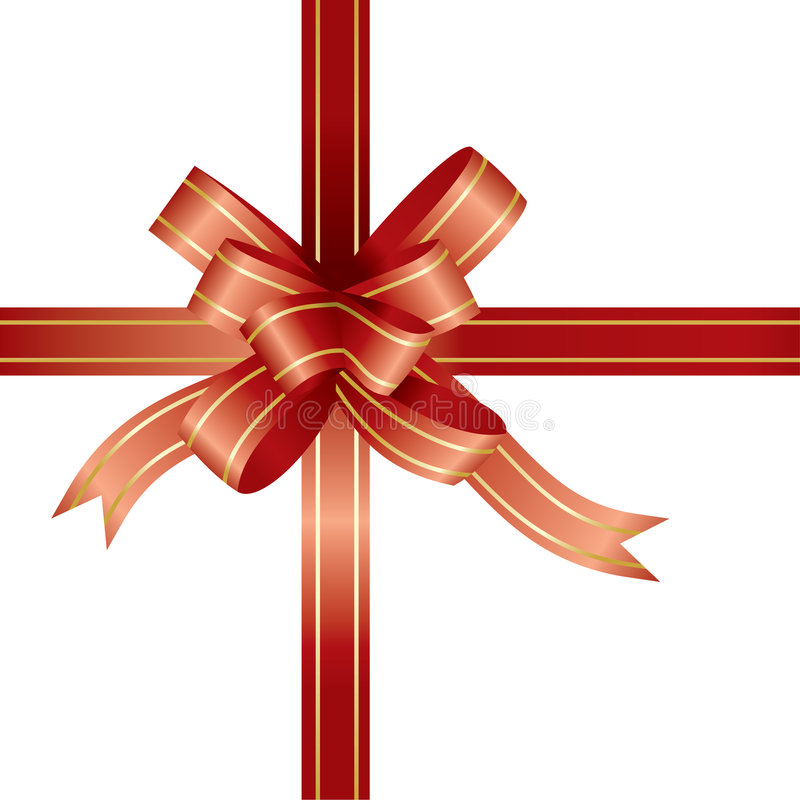 Free Red Ribbon And Bow Stock Images - 3375894