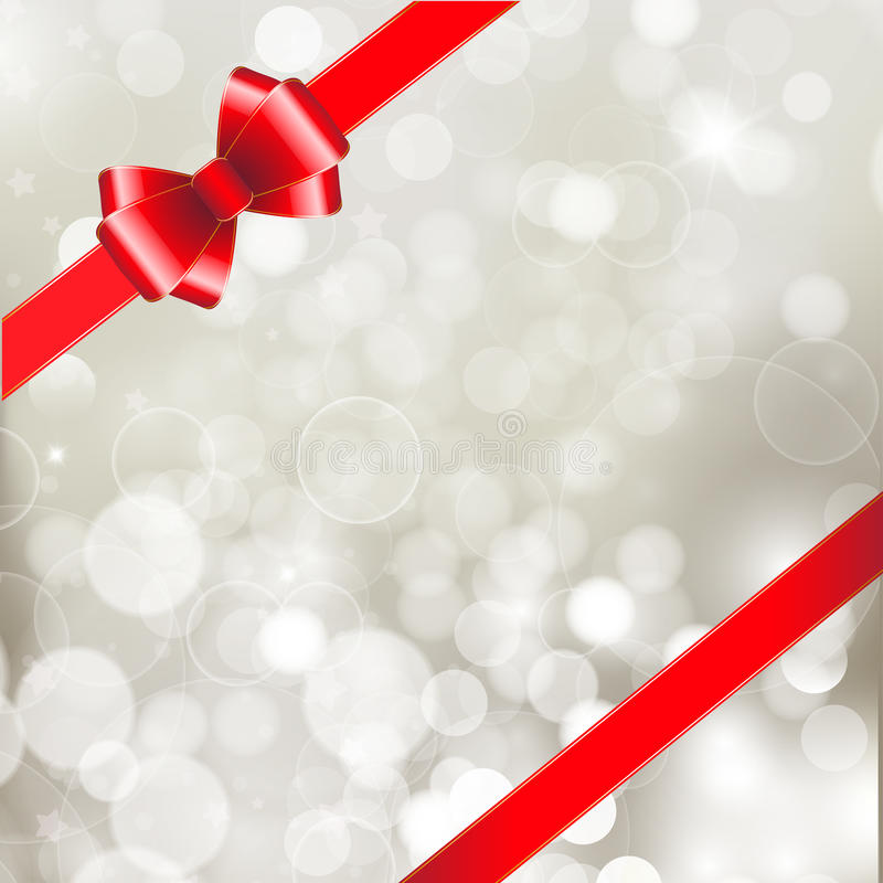 Download Red ribbon bow stock illustration. Image of congratulation - 27976014