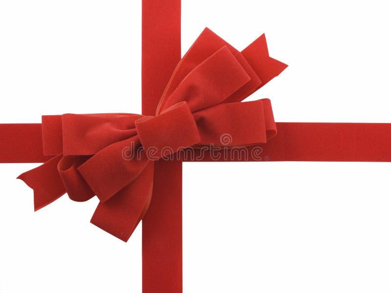 Download Red ribbon and bow stock image. Image of xmas, ribbon - 3584285