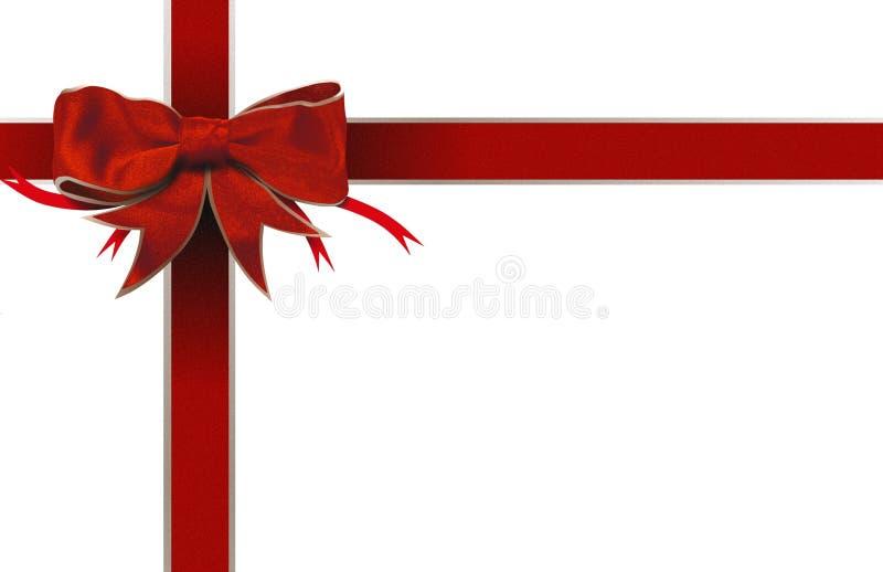 Download Red Ribbon Bow Border Royalty Free Stock Photos - Image: 28580788