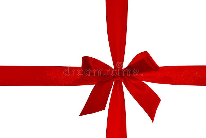 Download Red Ribbon With Clipping Path. Stock Photo - Image: 11880910