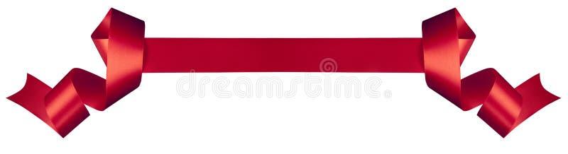 Red ribbon royalty free stock photos