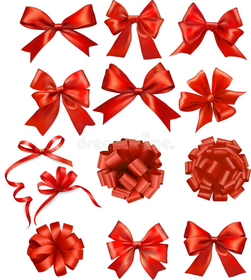 Download Red ribbon stock photo. Image of color, card, beautiful - 33511952