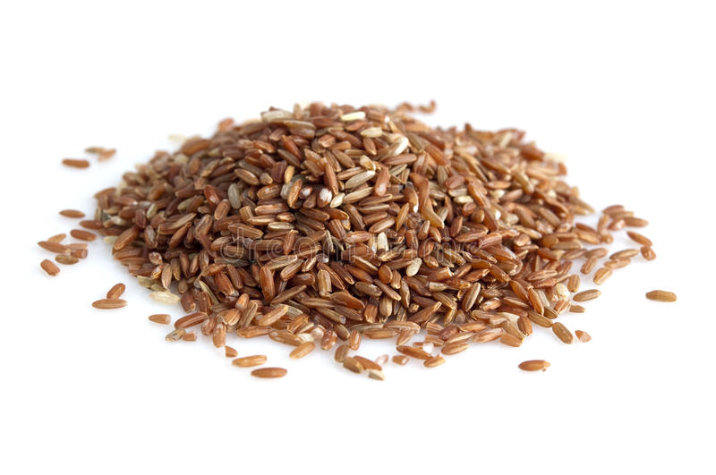Download Red rice stock image. Image of detail, heap, bright, food - 15388273