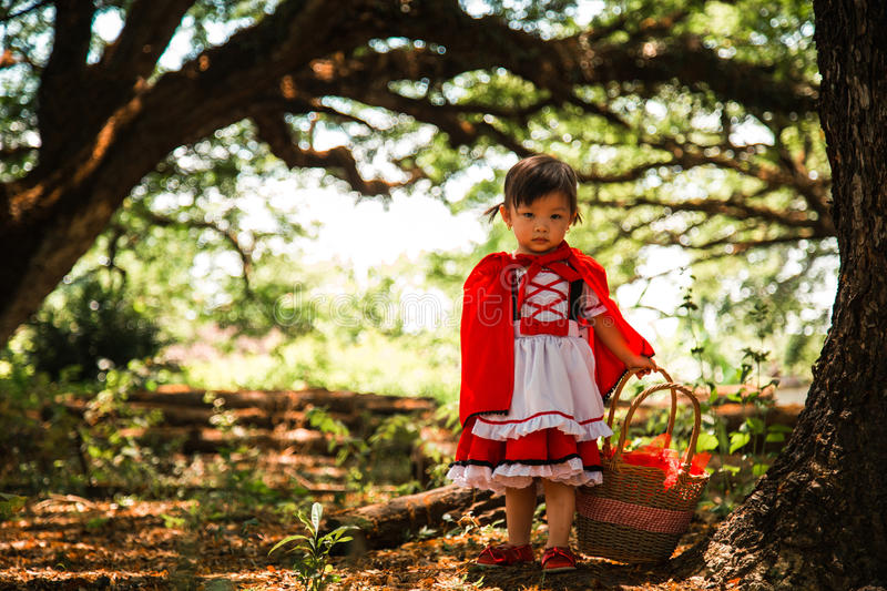 Red riding hood stock images
