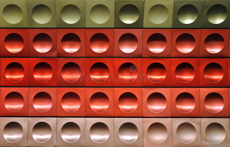 Download Red rings stock photo. Image of pattern, subway, line - 18137020