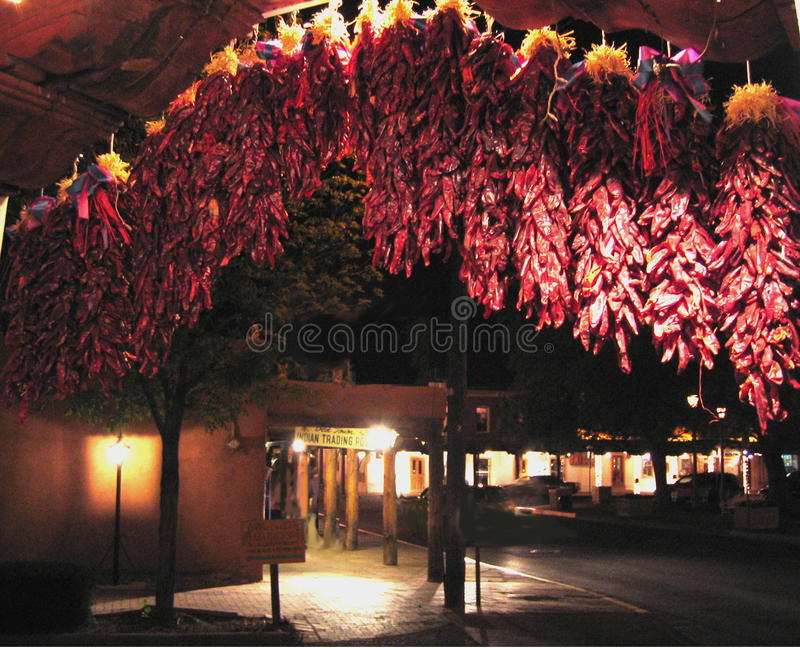 Red Ristras royalty free stock photography
