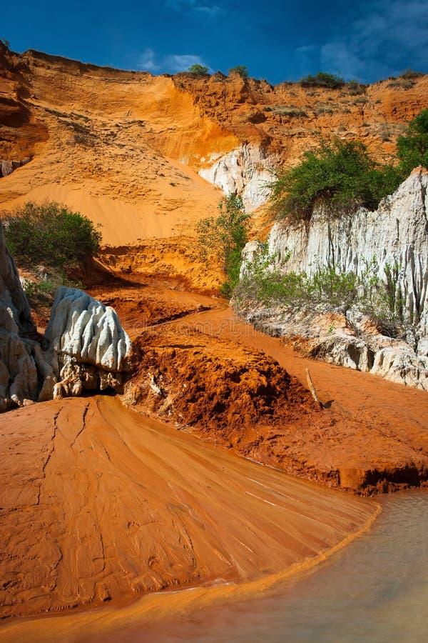 Red river canyon, Mui Ne, Vietnam