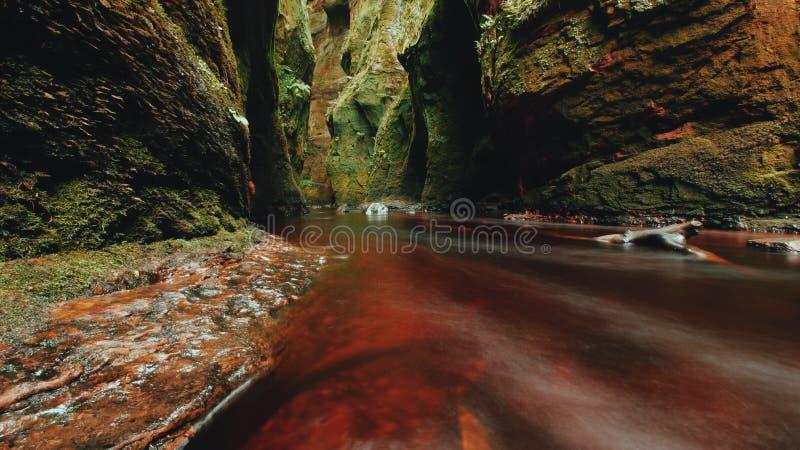 Red River en el púlpito de los diablos foto de archivo libre de regalías