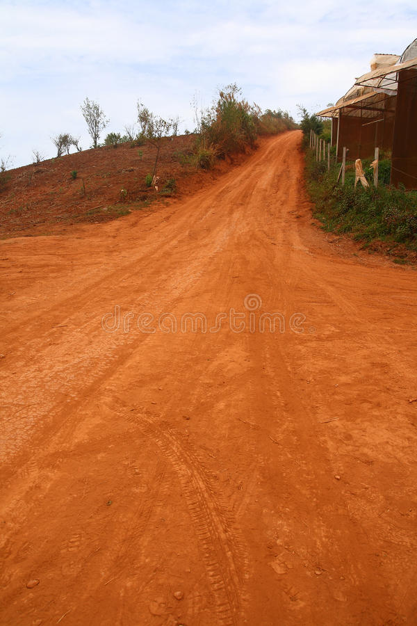 Download Red Road stock image. Image of drive, track, course, expedition - 30311003